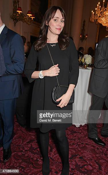Keeley Hawes attends as Audi hosts the opening night performance of La Fille Mal Gardee at The Royal Opera House on April 23 2015 in London England