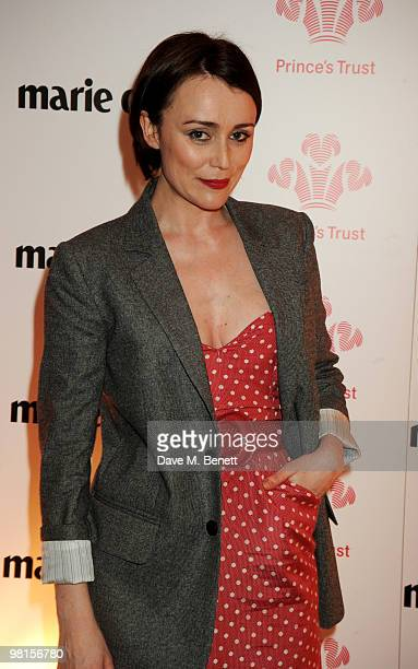 Keeley Hawes attends Marie Claire's Inspire Mentor Campaign party at The Loft at the Ivy Club on March 30 2010 in London England