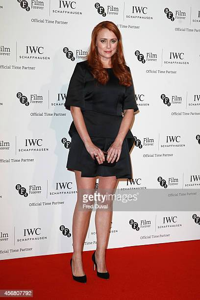 Keeley Hawes attends the IWC gala dinner in honour of the BFI during the BFI London Film Festival at Battersea Evolution on October 7 2014 in London...