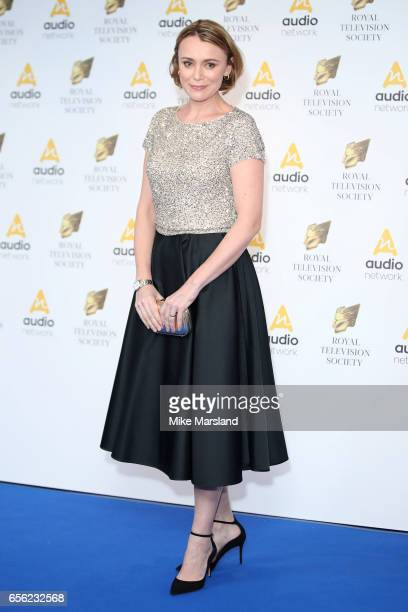 Keeley Hawes attends the Royal Television Society Programme Awards on March 21 2017 in London United Kingdom