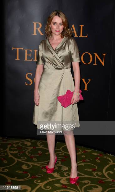 Keeley Hawes attends The Royal Television Society Programme Awards held at the Grosvenor House Hotel on March 19 2008 in London England