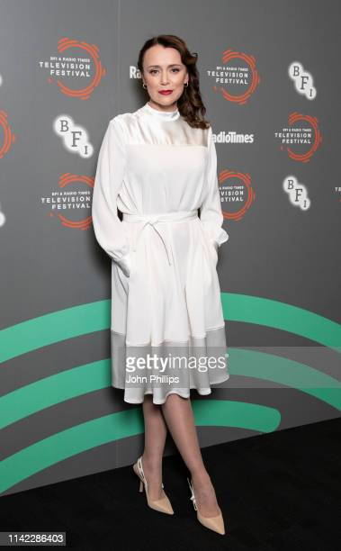 Keeley Hawes attends the Summer Of Rockets preview during the BFI Radio Times Television Festival 2019 at BFI Southbank on April 12 2019 in London...