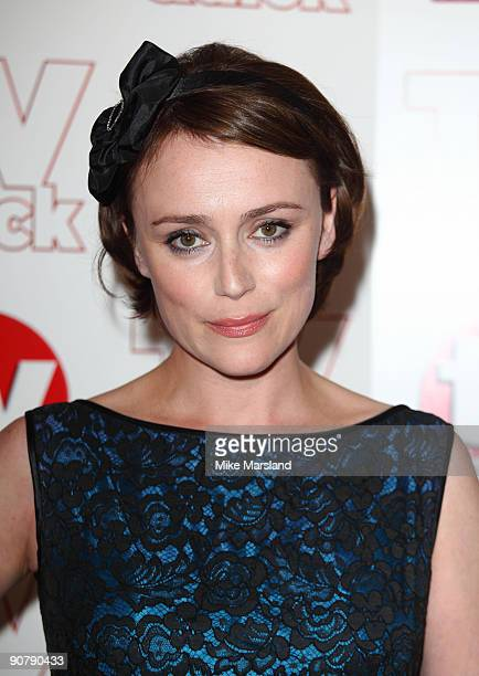 Keeley Hawes attends the TV Quick Tv Choice Awards at The Dorchester on September 7 2009 in London England