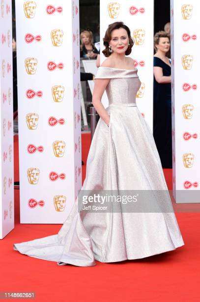 Keeley Hawes attends the Virgin Media British Academy Television Awards 2019 at The Royal Festival Hall on May 12 2019 in London England