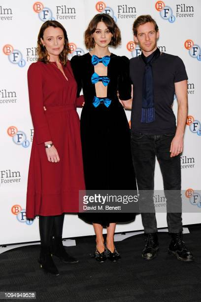 """Keeley Hawes, Emma Appleton and Luke Treadaway attend a photocall for new Channel 4 drama """"Traitors"""" at the BFI Southbank on February 7, 2019 in..."""