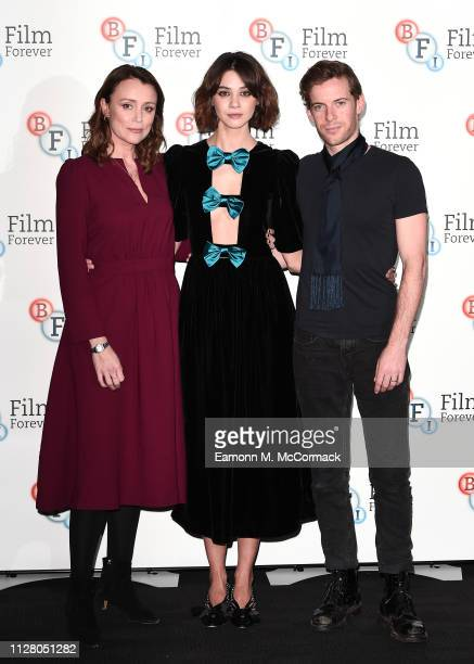 Keeley Hawes Emma Appleton and Luke Treadaway attend a photocall for new Channel 4 drama TRAITORS held at BFI Southbank on February 07 2019 in London...
