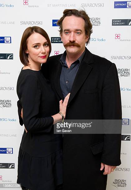 Keeley Hawes Matthew Macfayden attend The English National Ballet's Christmas Party at the St Martins Lane Hotel on December 14 2011 in London England