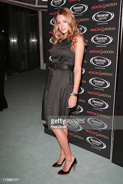 Keeley Hazel during Moscow Motion Party Red Carpet at Old Billingsgate Market in London Great Britain
