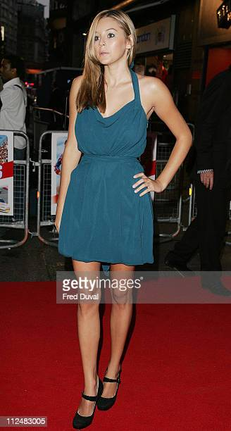 Keeley Hazel during Talladega Nights The Ballad of Ricky Bobby London Premiere at The Empire in London Great Britain