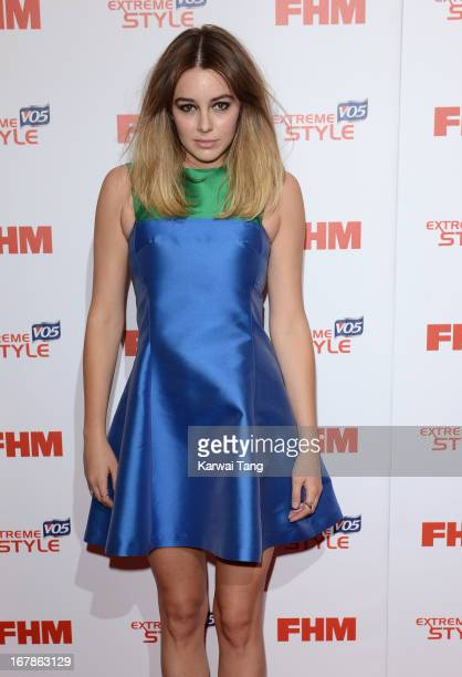 Keeley Hazell arrives for the FHM 100 Sexiest Women in the World 2013 Launch Party held at the Sanderson Hotel on May 1 2013 in London England