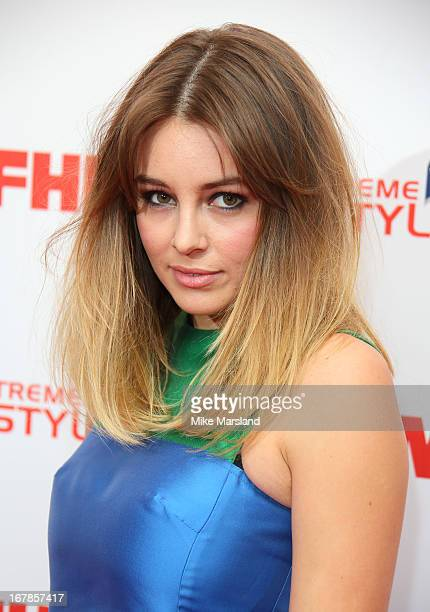 Keeley Hazell attends the FHM 100 Sexiest Women In The World 2013 party at Sanderson Hotel on May 1 2013 in London England