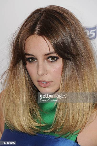 Keeley Hazell attends the FHM 100 Sexiest Women In The World 2013 Launch Party at Sanderson Hotel on May 1 2013 in London England