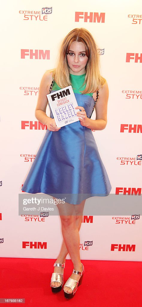 Keeley Hazell attends The FHM 100 Sexiest Women In The World 2013 Launch Party at the Sanderson Hotel on May 1, 2013 in London, England. (Photo by Gareth J Davies/Getty Images