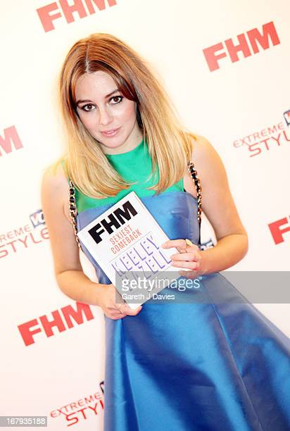 Keeley Hazell attends The FHM 100 Sexiest Women In The World 2013 Launch Party at the Sanderson Hotel on May 1, 2013 in London, England. (Photo by...