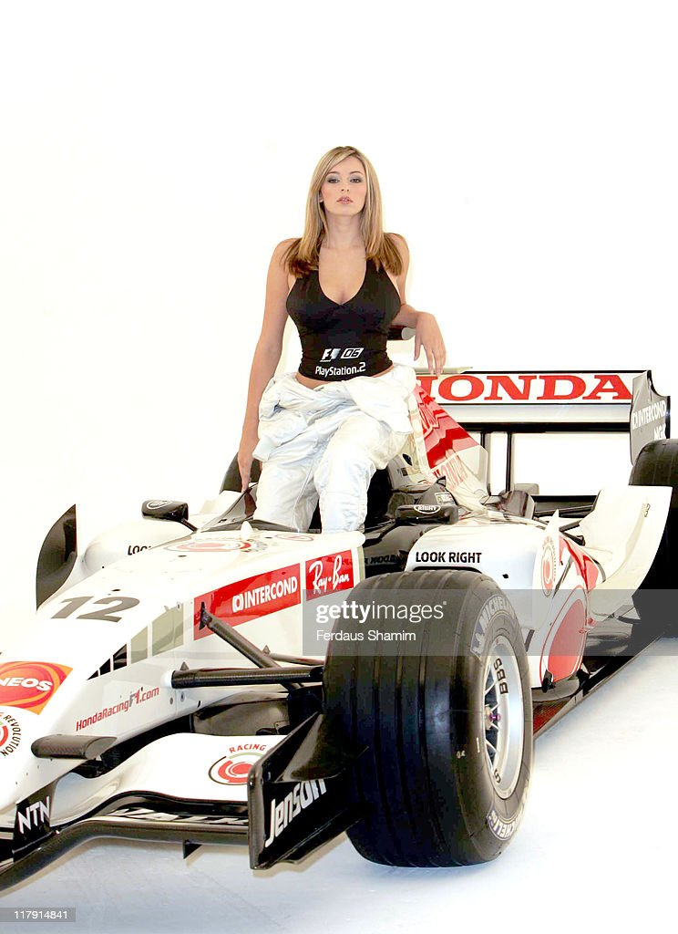 Keeley Hazell - The New Face of Formula One 2006 – Photocall : News Photo