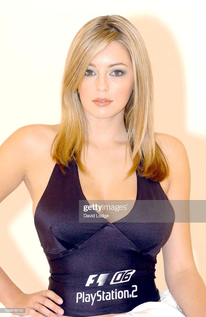 Keeley Hazell - The New Face of Formula One 2006 – Photocall - June 1, 2006 : News Photo