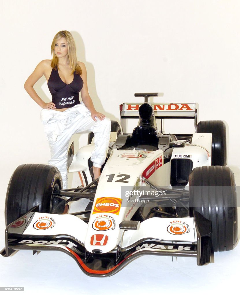 Keeley Hazell - The New Face of Formula One 2006 û Photocall - June 1, 2006 : News Photo