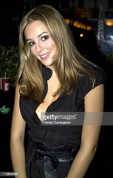 Keeley Hazell during MOBO Awards 2006 After Party at Astoria in London Great Britain