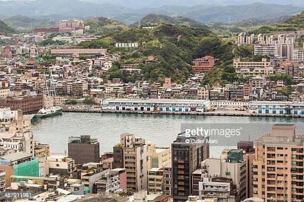 Keelung Harbor in Taiwan