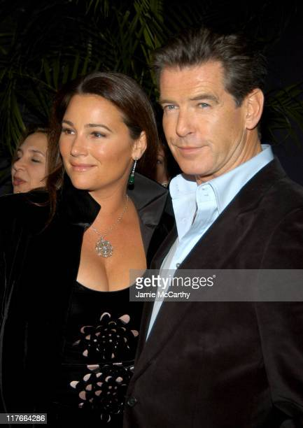 Keely Shaye Smith and Pierce Brosnan during 'After The Sunset ' New York Premiere After Party Hosted by Lockes Diamonds at Time Warner Center in New...