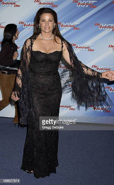 Keely Shaye Smith during 'Die Another Day' Los Angeles Premiere at Shrine Auditorium in Los Angeles California United States