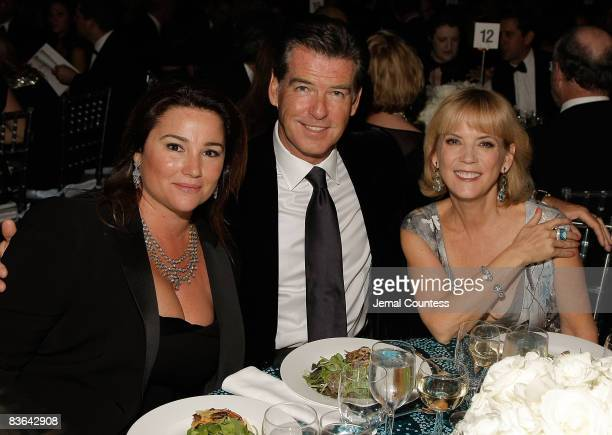 Keely Shaye Smith Pierce Brosnan and President of Luxury Products L'Oreal Paris Carol J Hamilton attendthe L'Oreal Legends Gala to Benefit The...