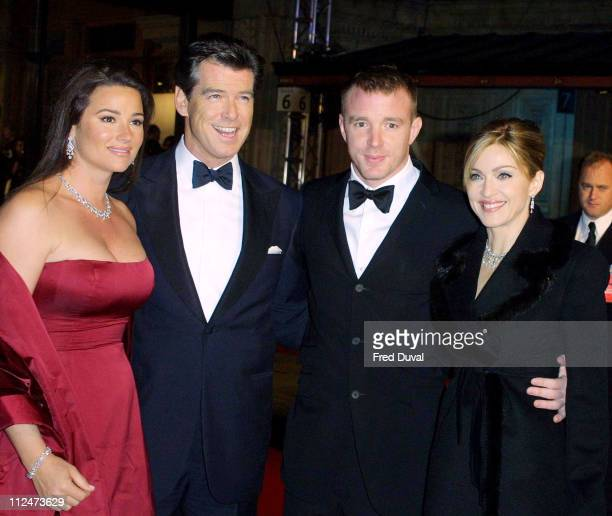 Keely Shaye Smith, Pierce Brosnan, Guy Ritchie and Madonna