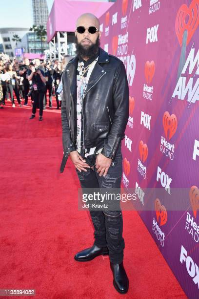Keenan Allen attends the 2019 iHeartRadio Music Awards which broadcasted live on FOX at Microsoft Theater on March 14, 2019 in Los Angeles,...