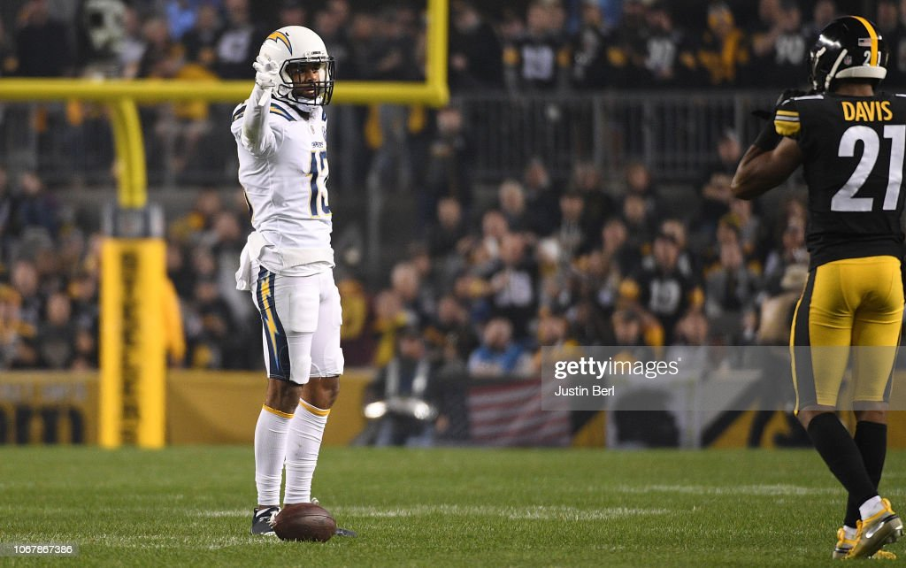 Los Angeles Chargers v Pittsburgh Steelers : Fotografia de notícias