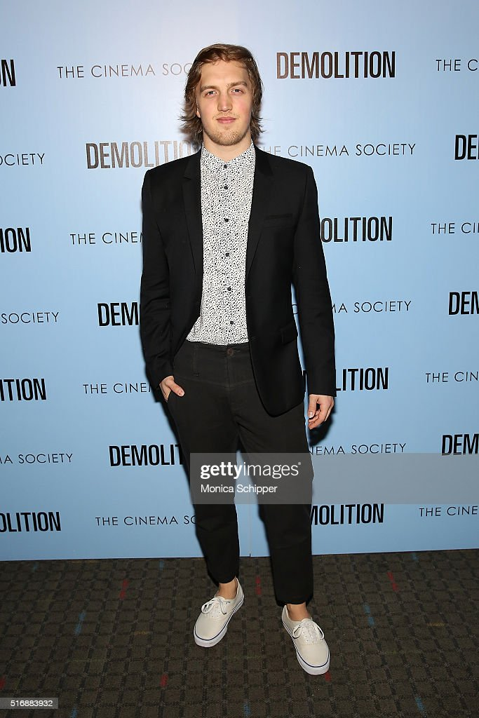 Keenan Jolliff attends Fox Searchlight Pictures with The Cinema Society Host A Screening of 'Demolition' at SVA Theatre on March 21, 2016 in New York City.
