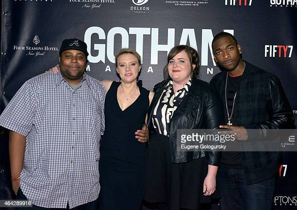 Keenan Thompson Kate McKinnon Aidy Bryant and Jay Pharoah attend the Gotham Hamptons Magazines celebration of Gotham's Spring Issue featuring...