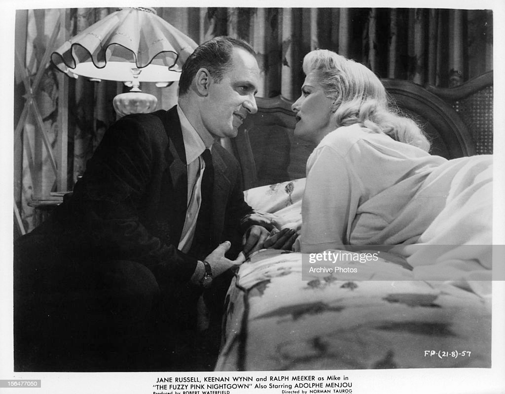 3d51f54b77 Keenan Wynn And Jane Russell In  The Fuzzy Pink Nightgown    News Photo