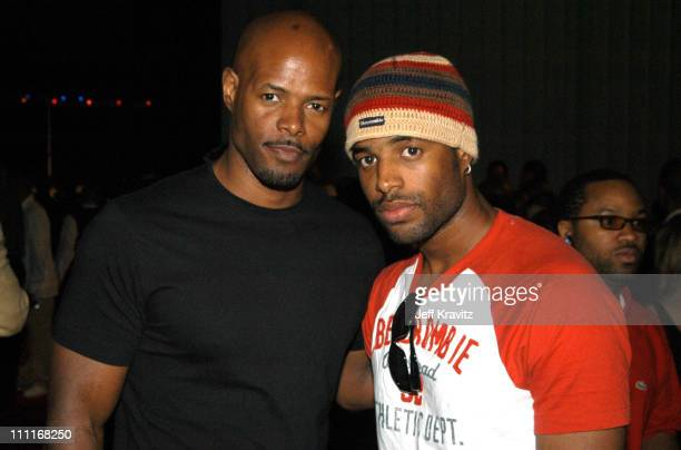 Keenen Ivory Wayans and Shawn Wayans during 18th Annual A Midsummer Night's Magic Weekend Wraps Up with Magic's Harlem Nights at Barker Hangar in...