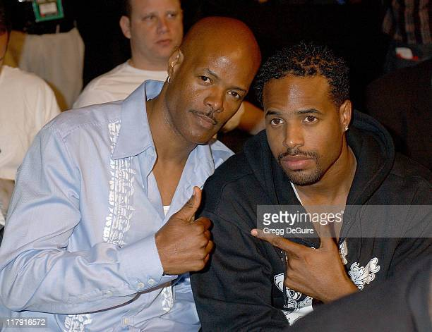Keenen Ivory Wayans and Shawn Wayans during Celebrities Attend Ultimate Fighting Championship 60 Hughes vs Gracie at Staples Center in Los Angeles...