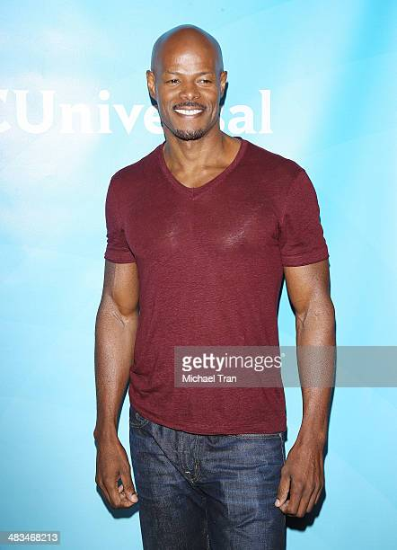 Keenen Ivory Wayans arrives at the NBCUniversal's 2014 Summer Press Day held at Langham Hotel on April 8 2014 in Pasadena California