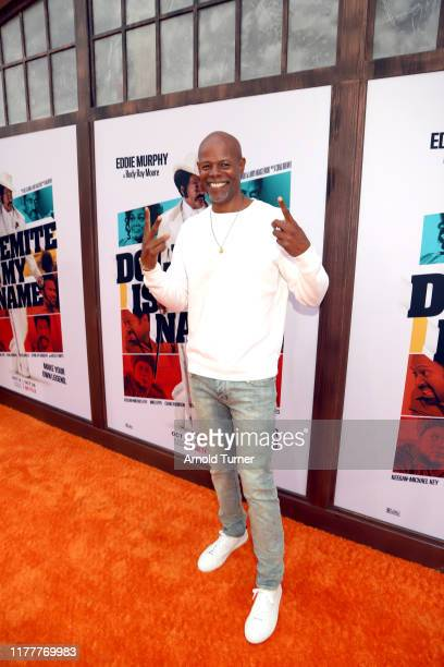 Keenen Ivory Wayans attends the Dolemite Is My Name premiere presented by Netflix on September 28 2019 in Los Angeles California