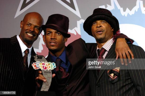 Keenen Ivory Wayans Marlon Wayans and Damon Wayans winners of the BET Comedy Icon award