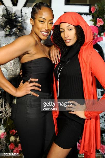 Keenyah Hill and Kiara Belen attend The Fashion Life Tour Presents New York Fashion Week on February 07 2020 in New York City