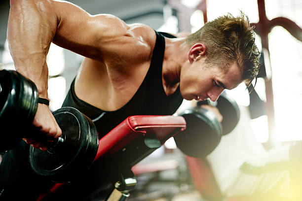 benefits of weight training Strength training is an effective method for losing weight, gaining lean muscle mass, losing body fat, toning the body, and improving your physical fitness appearance.