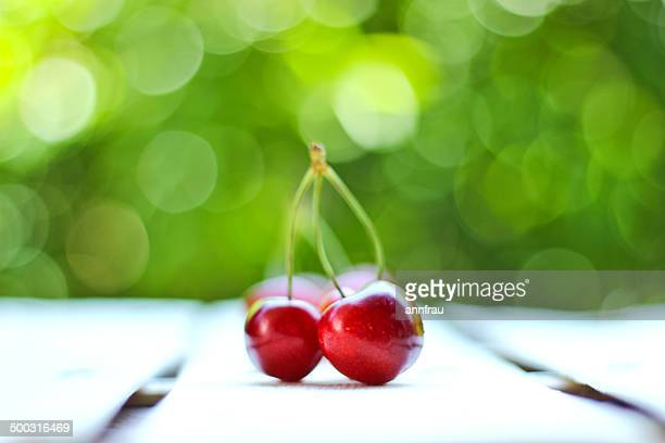 keep calm and cherry on - annfrau stock photos and pictures