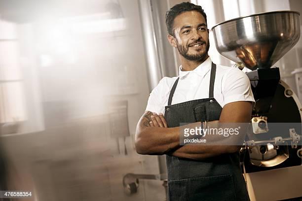 Keep calm, I'm a barista