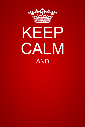 keep calm motivational poster template 1149417976