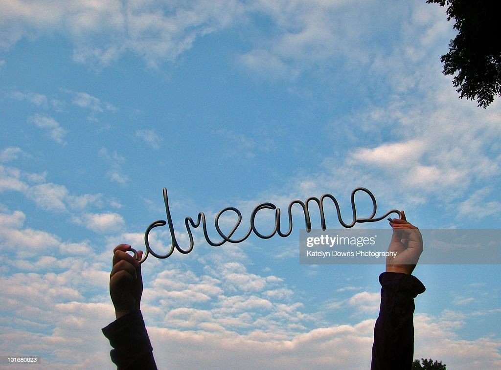 keep dreaming  : Stock Photo