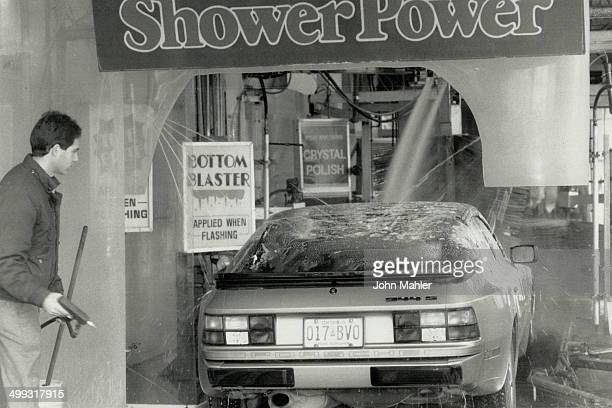 Keep it clean High pressure spray loosens grit before brushes touch car at Soft System car wash on Millwood Rd while the team at the Silver Shadow...