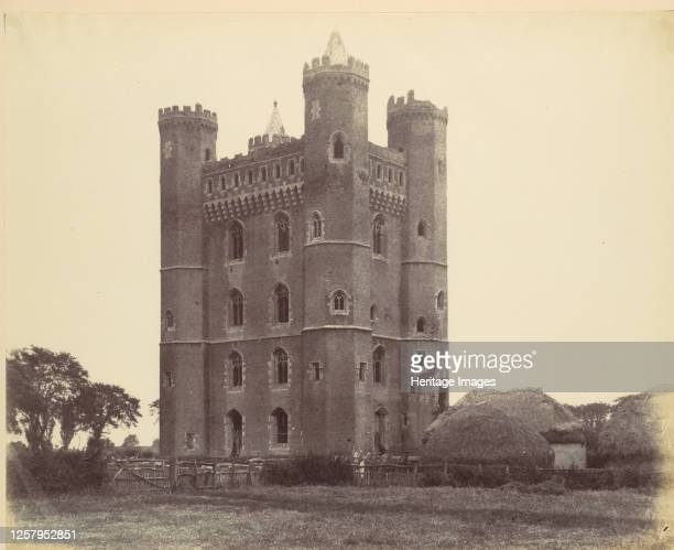 Keep of Tattershall Castle Lincolnshire 2nd Fortescue 1860 Artist Alfred CapelCure