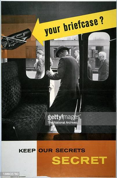 Keep Our Secrets Secret Campaign Your Briefcase 1960s
