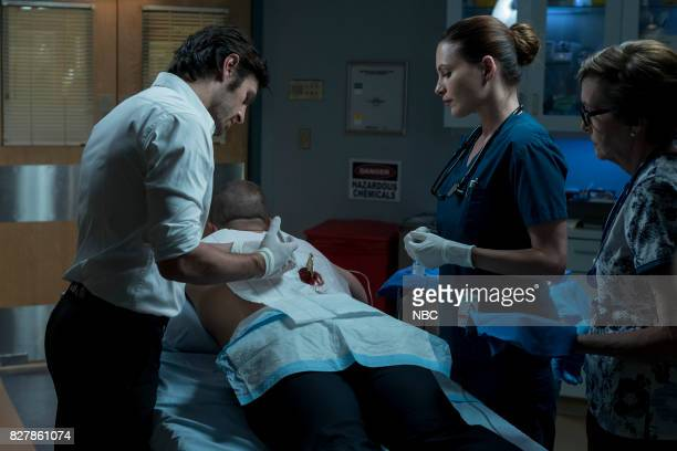 SHIFT Keep The Faith Episode 407 Pictured Eoin Macken as TC Callahan Josh Kelly as Xavier Arnold Jill Flint as Jordan Alexander