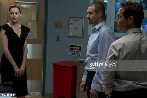 SHIFT 'Keep The Faith' Episode 407 Pictured Jill Flint as Jordan Alexander Josh Kelly as Xavier Arnold Scott Wolf as Scott Clemmens