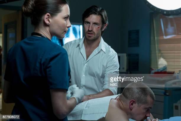 SHIFT Keep The Faith Episode 407 Pictured Jill Flint as Jordan Alexander Josh Kelly as Xavier Arnold Eoin Macken as TC Callahan