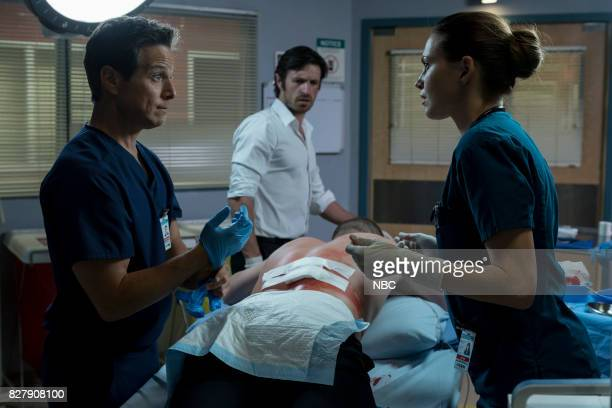 SHIFT 'Keep The Faith' Episode 407 Pictured Scott Wolf as Scott Clemmens Eoin Macken as TC Callahan Jill Flint as Jordan Alexander